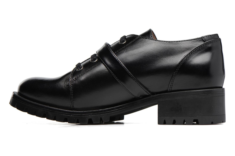 Chaussures à lacets Unisa Inmole Noir vue face
