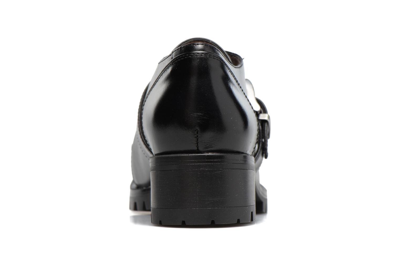 Chaussures à lacets Unisa Inmole Noir vue droite