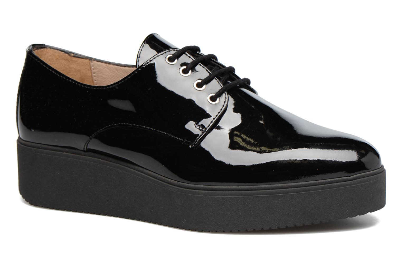 Chaussures à lacets Unisa Caler Noir vue détail/paire