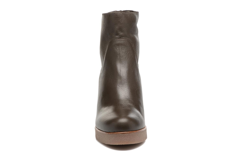 Boots en enkellaarsjes Unisa Galeni Bruin model
