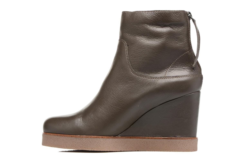 Boots en enkellaarsjes Unisa Galeni Bruin voorkant