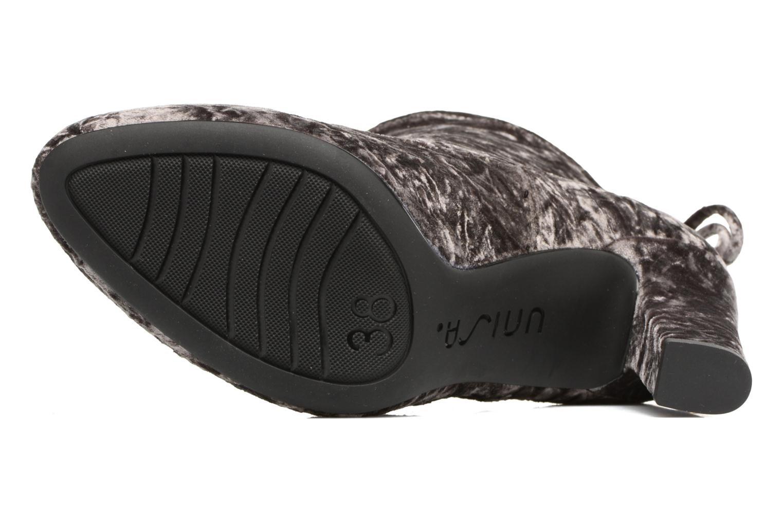 Bottines et boots Unisa Paule Noir vue haut