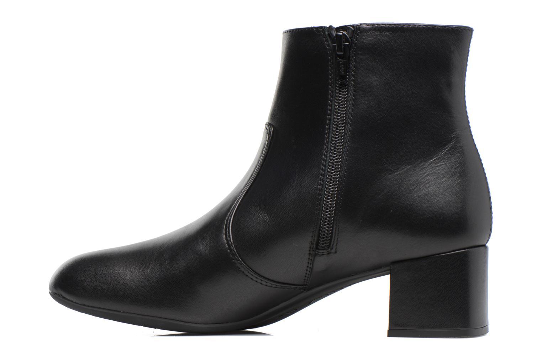 Boots en enkellaarsjes Unisa Karisi Zwart voorkant