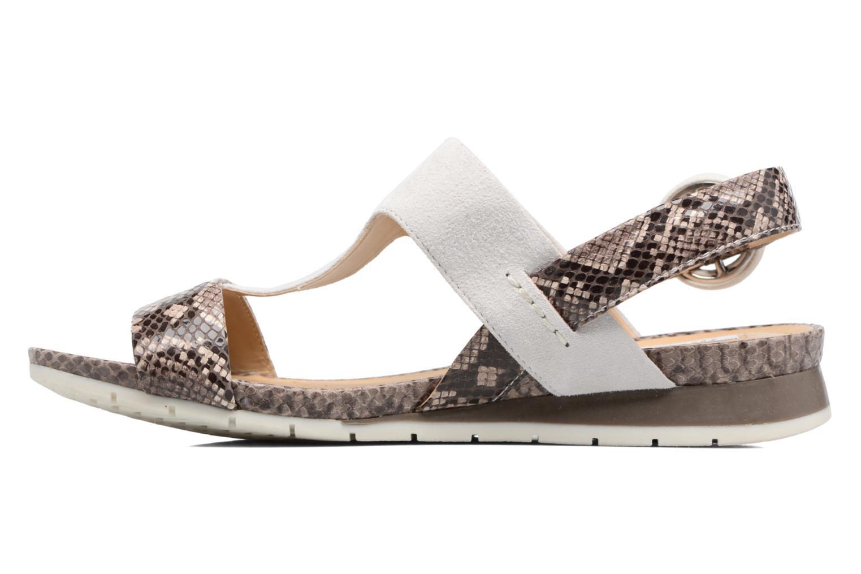 Sandales et nu-pieds Geox D FORMOSA E Blanc vue face