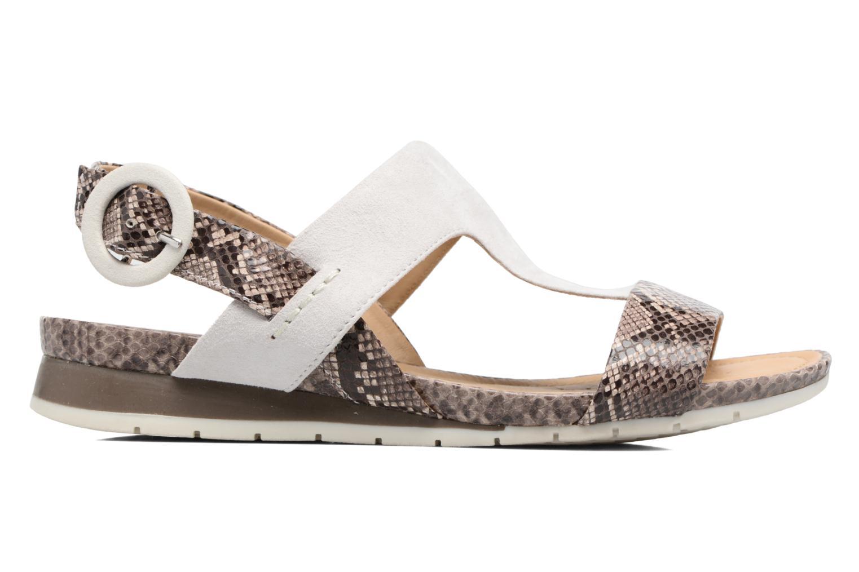 Sandales et nu-pieds Geox D FORMOSA E Blanc vue derrière