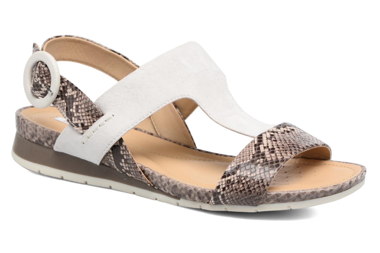 Sandales et nu-pieds Geox D FORMOSA E Blanc vue détail/paire