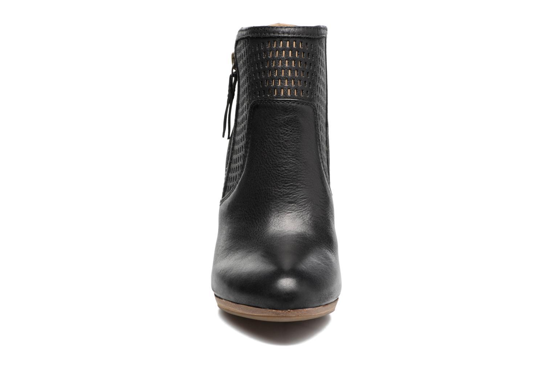 Bottines et boots Geox D KALI A Noir vue portées chaussures