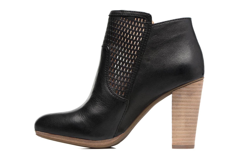 Bottines et boots Geox D KALI A Noir vue face