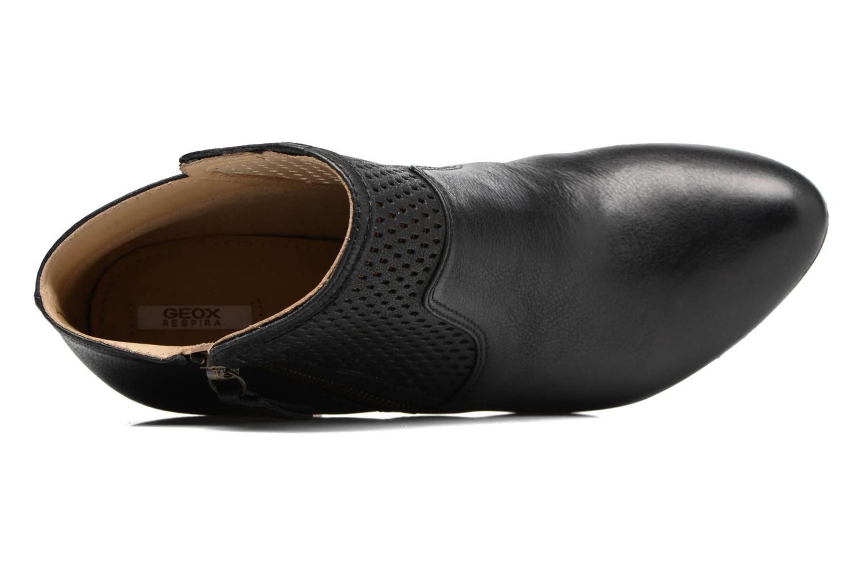 Bottines et boots Geox D KALI A Noir vue gauche