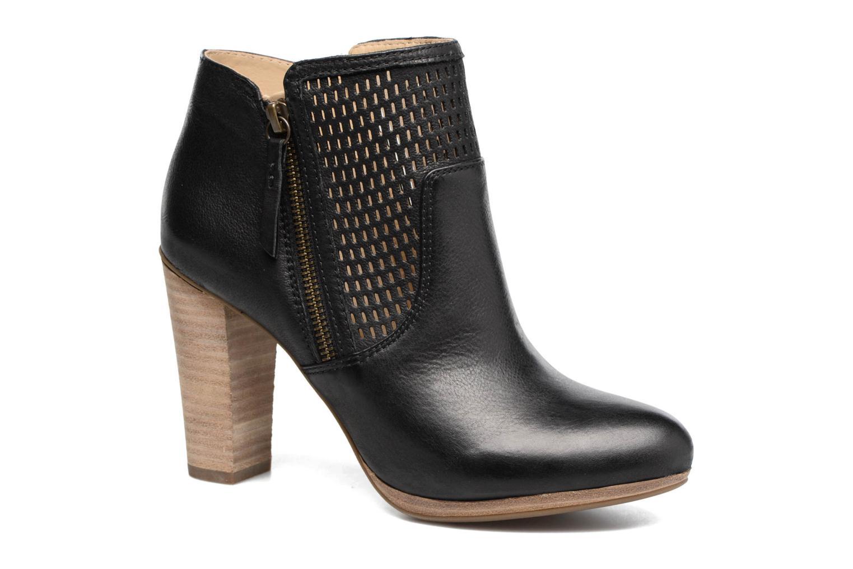 Bottines et boots Geox D KALI A Noir vue détail/paire