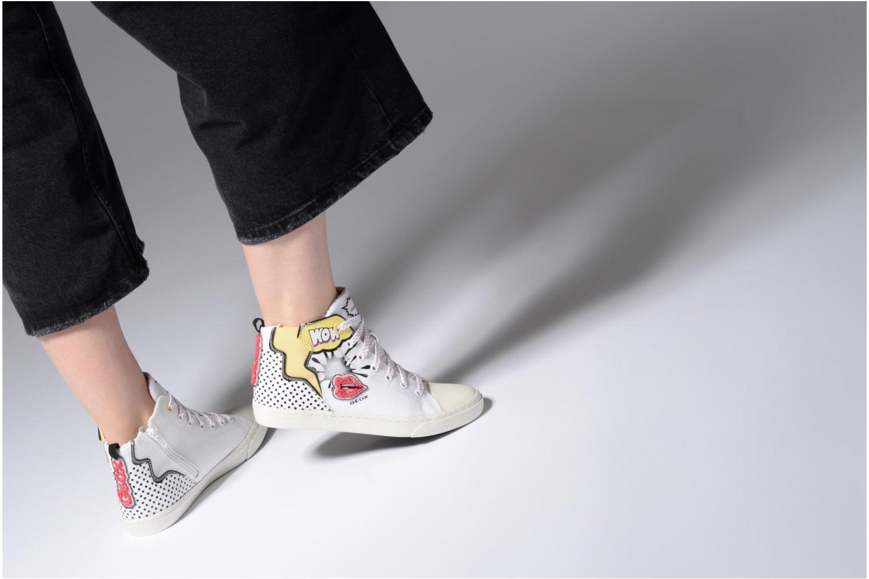 Sneakers Geox D NEW CLUB B II Wit onder