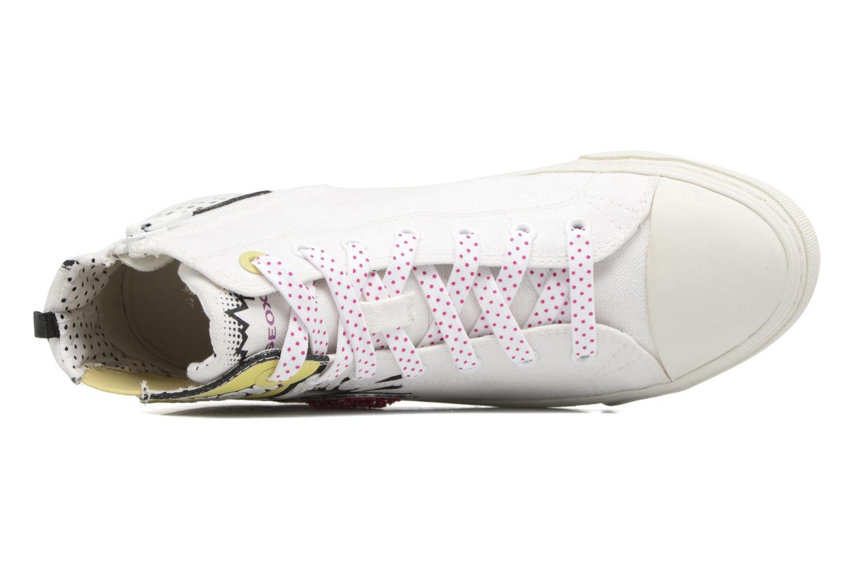 Sneakers Geox D NEW CLUB B II Wit links