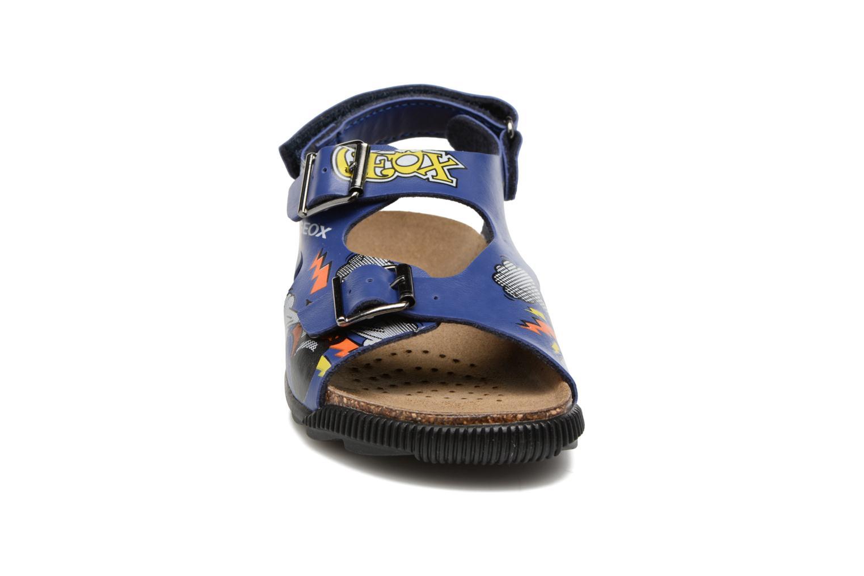 Sandales et nu-pieds Geox JR SANDAL STORM I Bleu vue portées chaussures