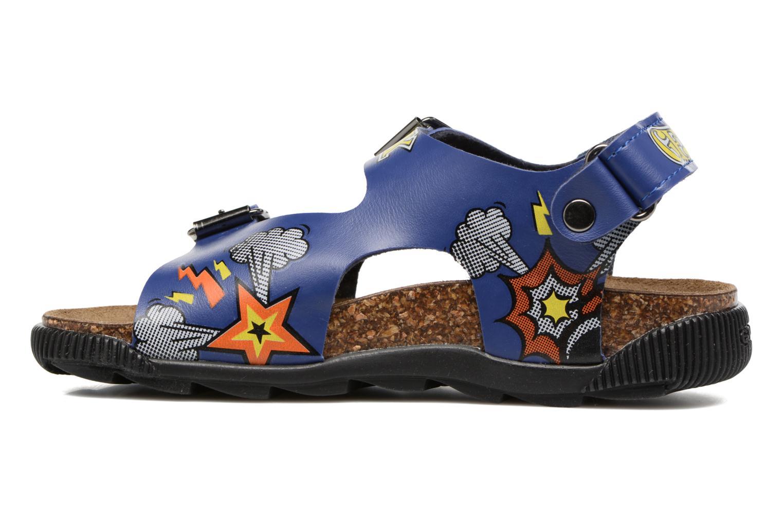 Sandales et nu-pieds Geox JR SANDAL STORM I Bleu vue face