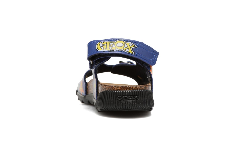 Sandales et nu-pieds Geox JR SANDAL STORM I Bleu vue droite