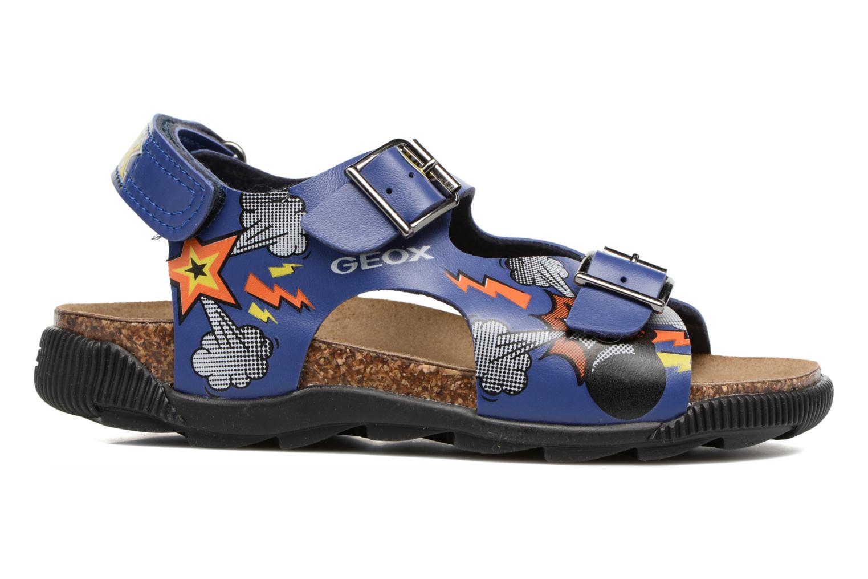 Sandales et nu-pieds Geox JR SANDAL STORM I Bleu vue derrière
