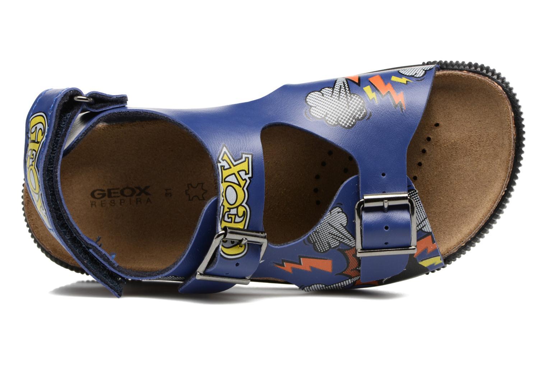 Sandales et nu-pieds Geox JR SANDAL STORM I Bleu vue gauche