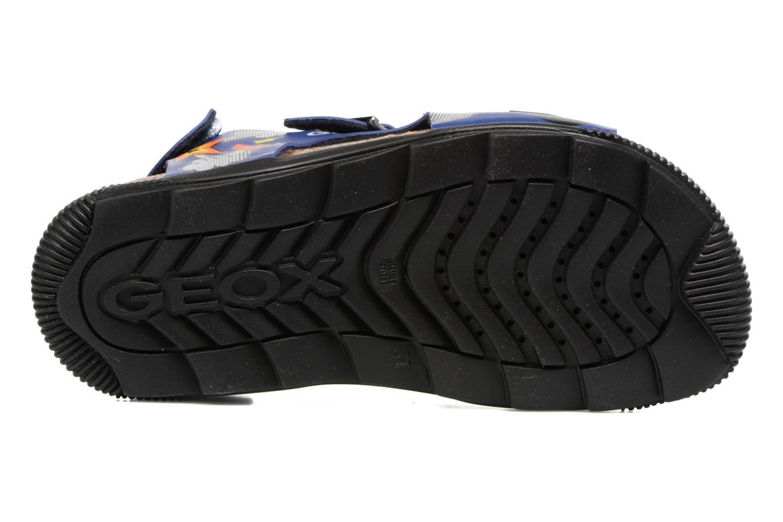 Sandales et nu-pieds Geox JR SANDAL STORM I Bleu vue haut