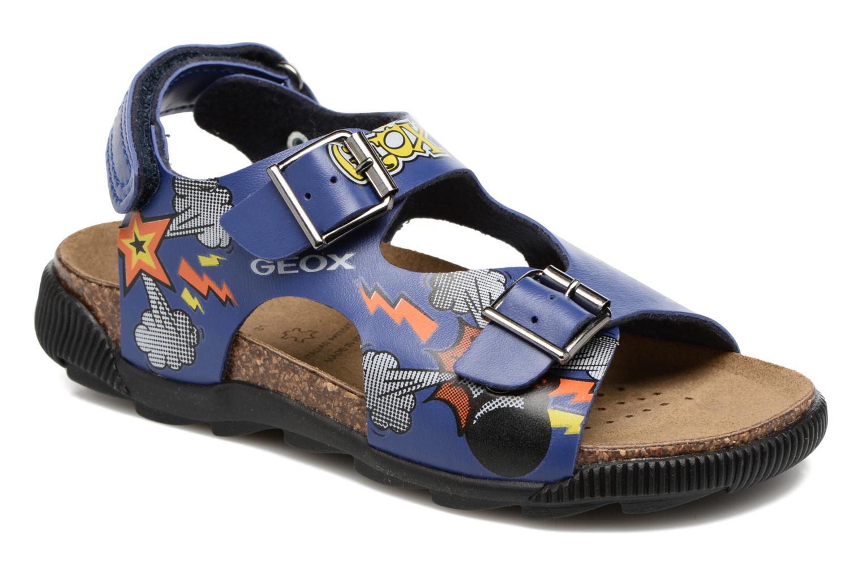 Sandales et nu-pieds Geox JR SANDAL STORM I Bleu vue détail/paire