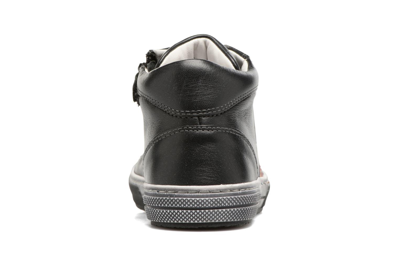 Sneaker Stones and Bones Rosto schwarz ansicht von rechts