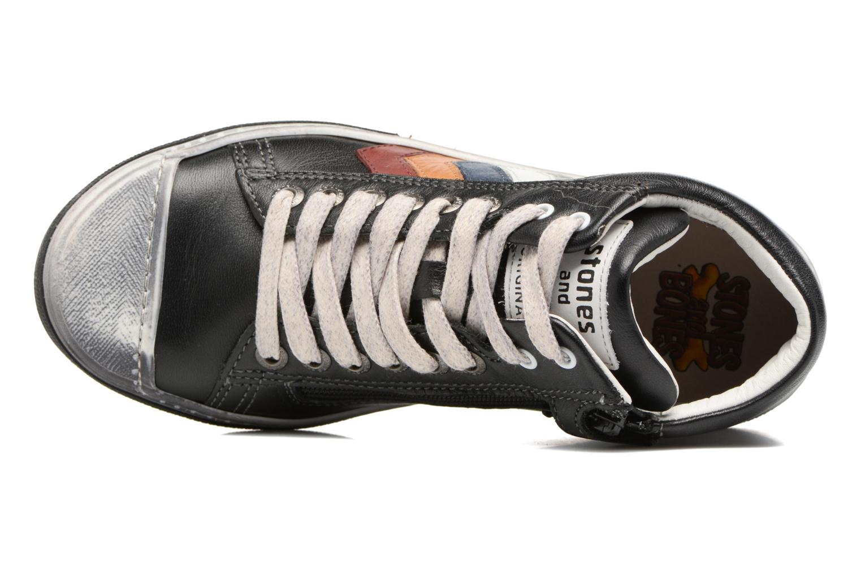 Sneakers Stones and Bones Rosto Sort se fra venstre