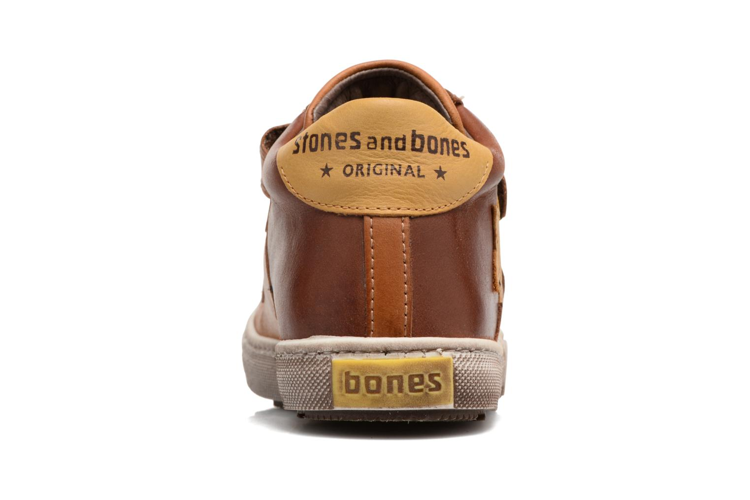 Trainers Stones and Bones Lifo Brown view from the right