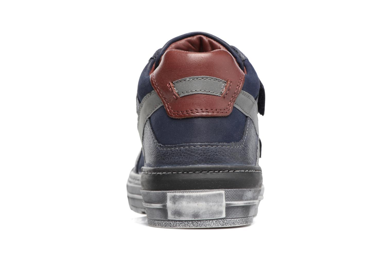Sneakers Stones and Bones Drevedry Blauw rechts