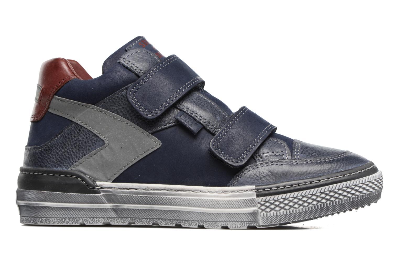 Sneakers Stones and Bones Drevedry Blauw achterkant