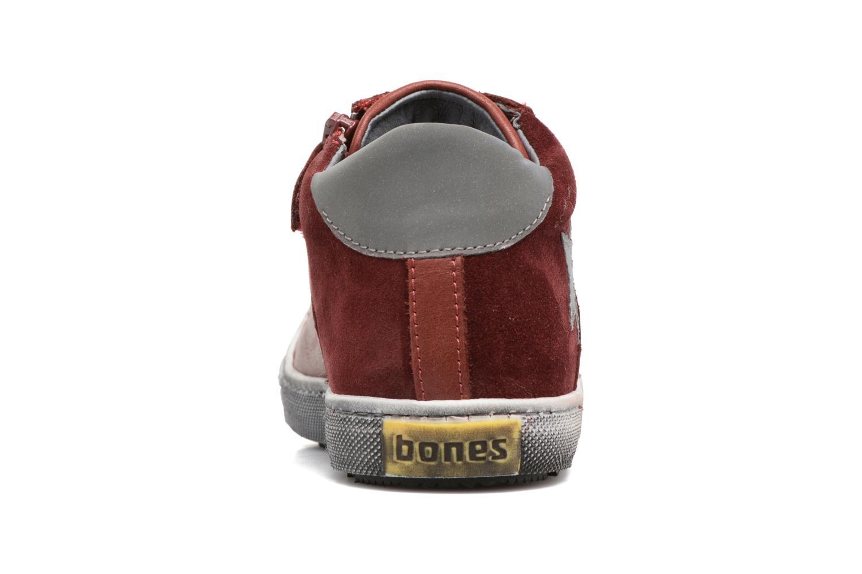 Deportivas Stones and Bones Lato Rojo vista lateral derecha