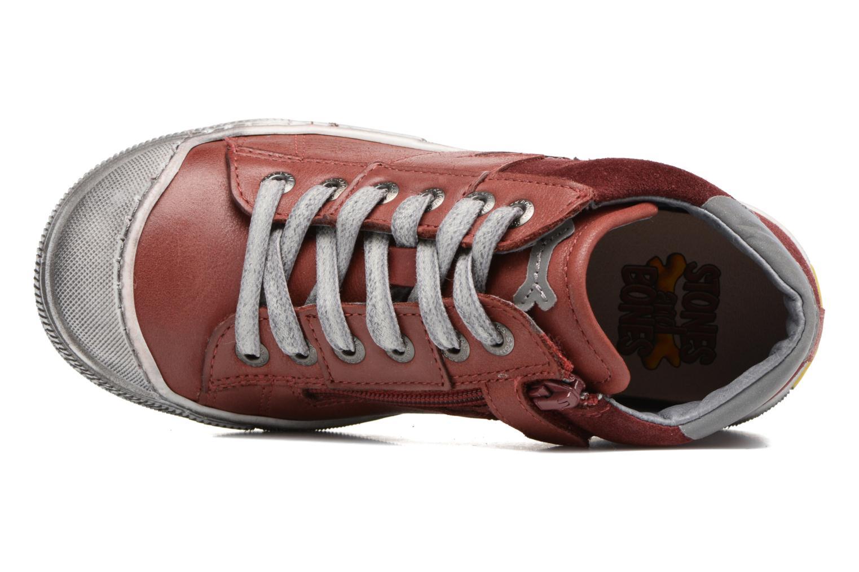 Sneakers Stones and Bones Lato Rosso immagine sinistra