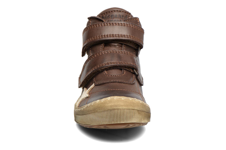 Baskets Bisgaard Addy Marron vue portées chaussures