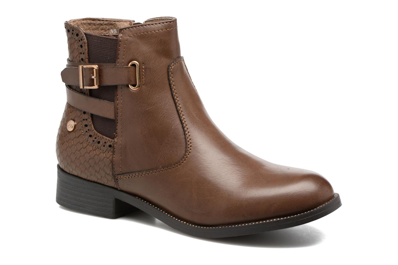 Bottines et boots Xti Ggive Marron vue détail/paire