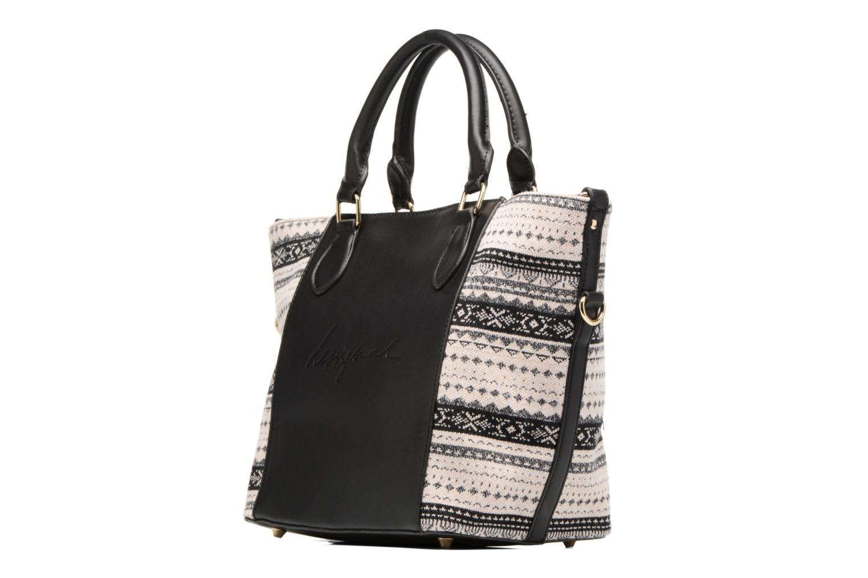 Sacs à main Desigual Florida Lila Handbag Noir vue droite