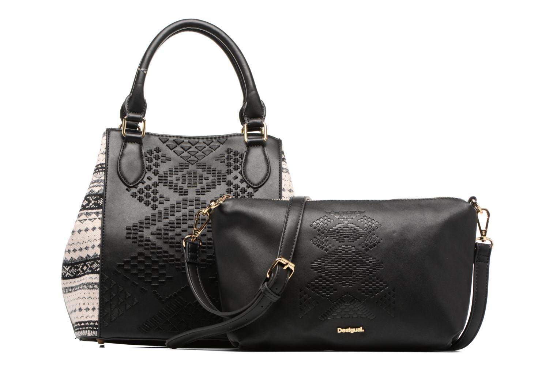 Sacs à main Desigual Florida Lila Handbag Noir vue gauche