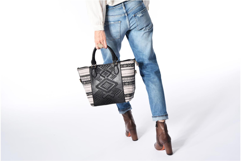 Sacs à main Desigual Florida Lila Handbag Noir vue haut