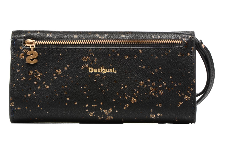 Reversible Metal Spleter Wallet Negro
