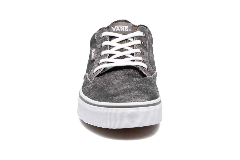 Baskets Vans Winston W Noir vue portées chaussures