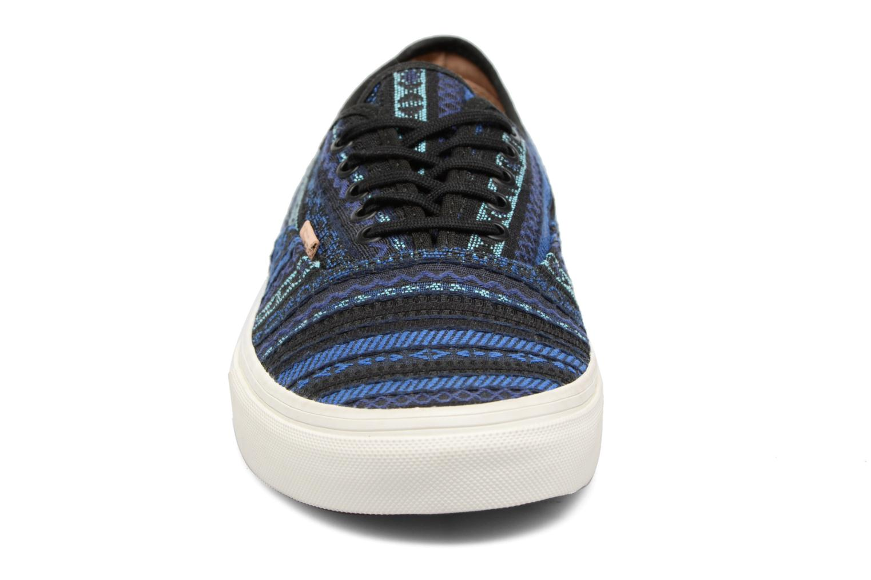 Baskets Vans Authentic CA Multicolore vue portées chaussures