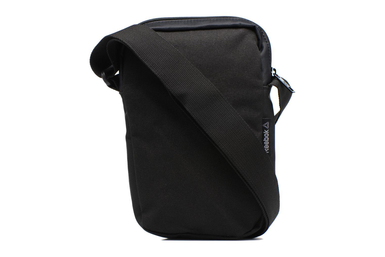 Borse uomo Reebok Style Found City Bag Nero immagine frontale