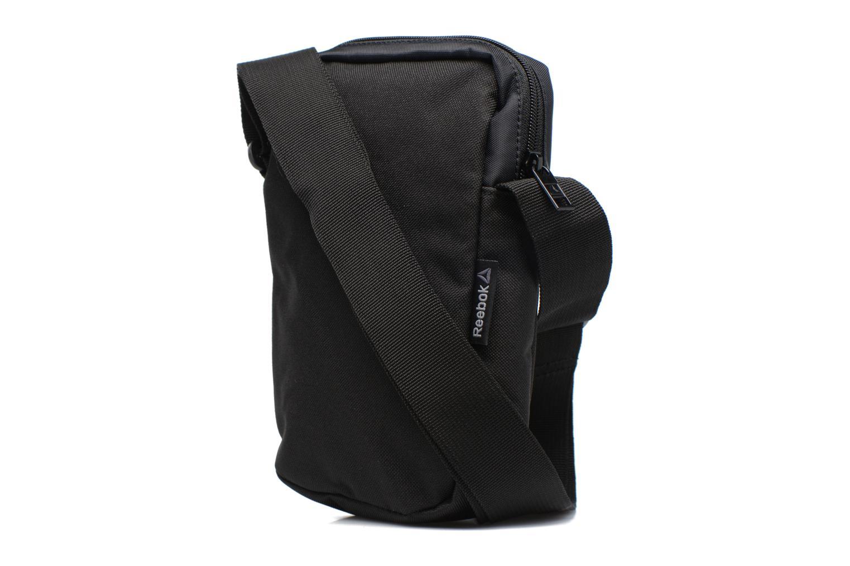 Borse uomo Reebok Style Found City Bag Nero immagine destra