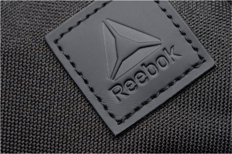 Borse uomo Reebok Style Found City Bag Nero immagine sinistra