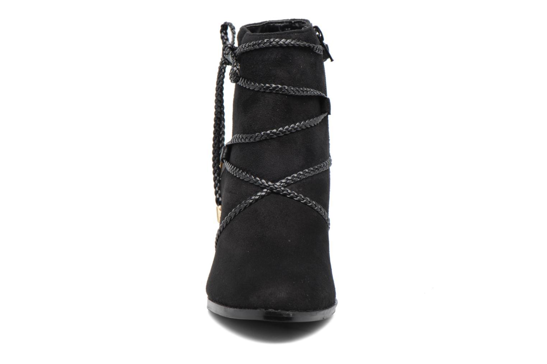 Bottines et boots Divine Factory Diana Noir vue portées chaussures
