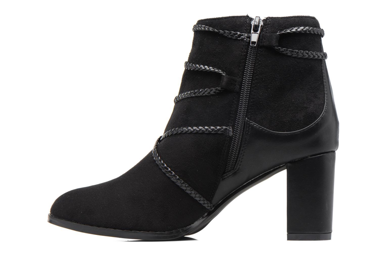 Bottines et boots Divine Factory Diana Noir vue face