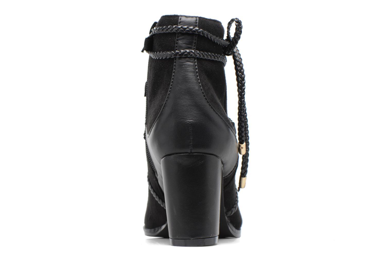 Bottines et boots Divine Factory Diana Noir vue droite