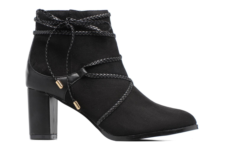 Bottines et boots Divine Factory Diana Noir vue derrière