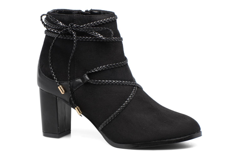 Bottines et boots Divine Factory Diana Noir vue détail/paire