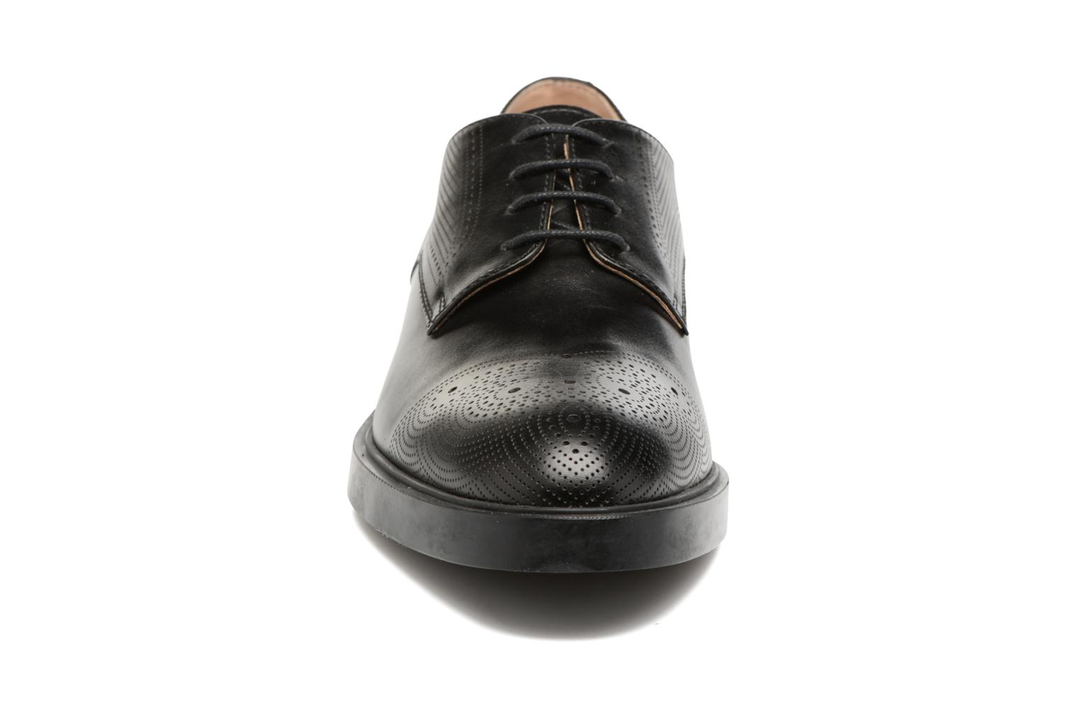 Lace-up shoes Fratelli Rossetti 75406 Black model view