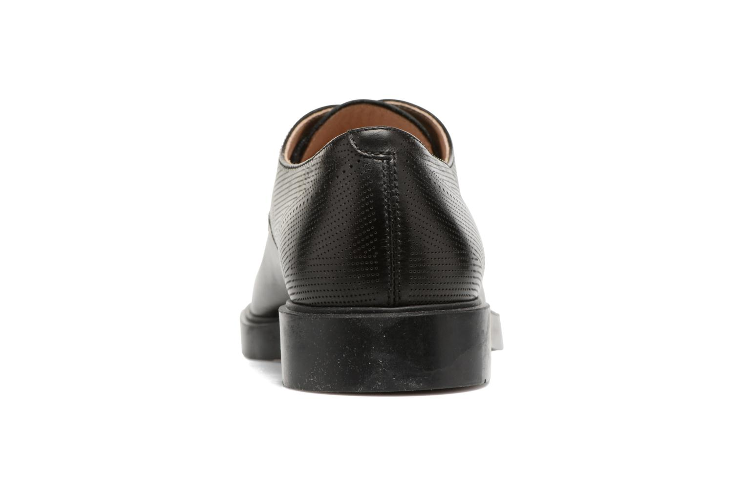 Lace-up shoes Fratelli Rossetti 75406 Black view from the right