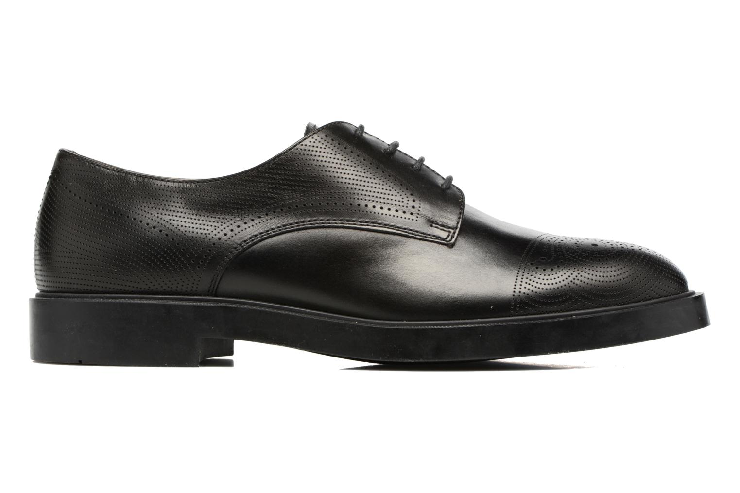 Lace-up shoes Fratelli Rossetti 75406 Black back view
