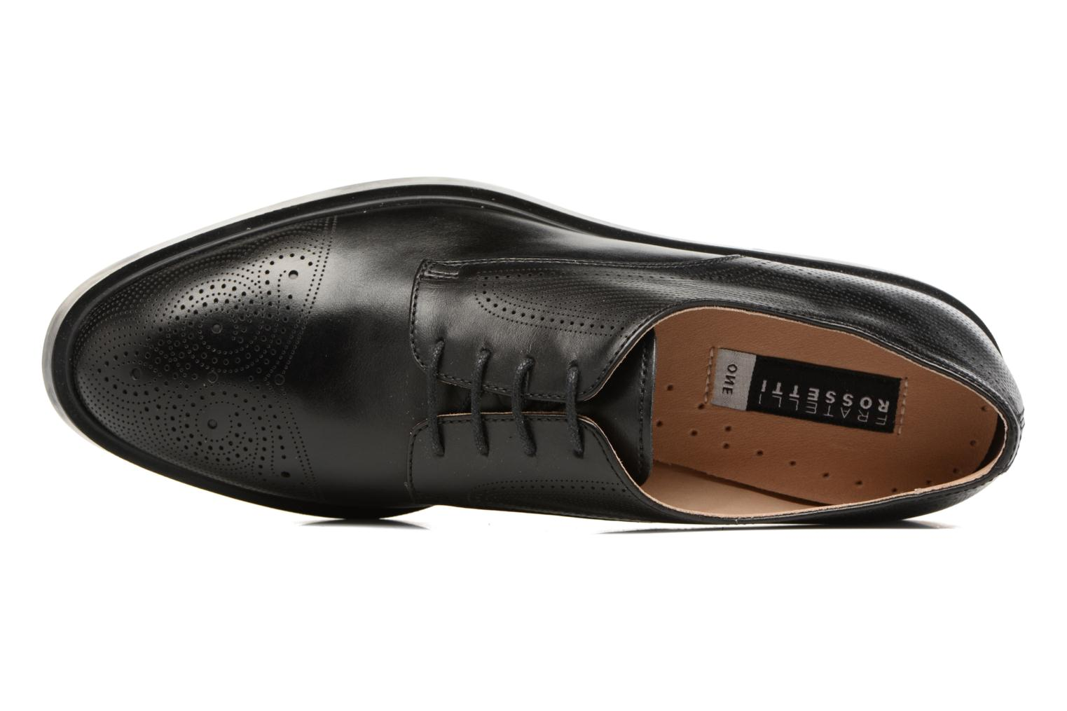 Lace-up shoes Fratelli Rossetti 75406 Black view from the left